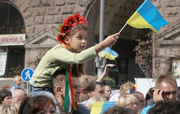 Только 7% украинцев за независимость своих областей