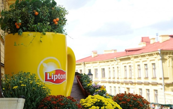 Дивовижне місто  - подарок от Lipton