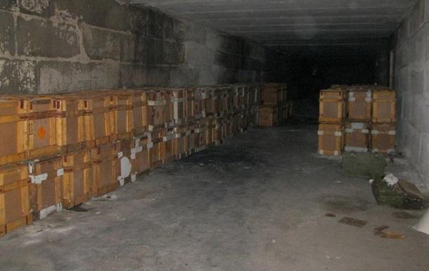 В Северодонецке обнаружен тайник сепаратистов с 20 тоннами пороха