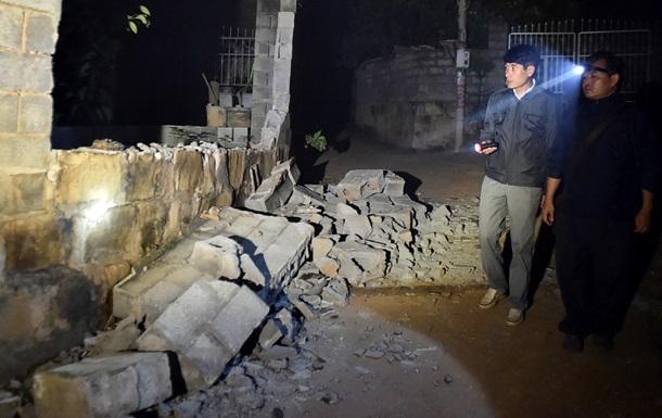 На западе Китая произошло сильное землетрясение