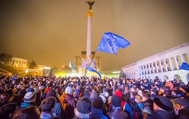 У соцмережах США Євромайдан підтримували більше, ніж в Україні