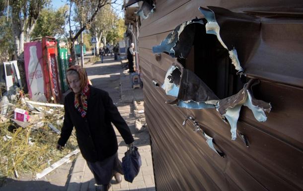 Обстрел Донецка: двое погибших, четыре района без воды