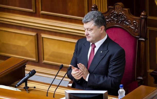 В Украину начались поставки высокоточного оружия – Порошенко
