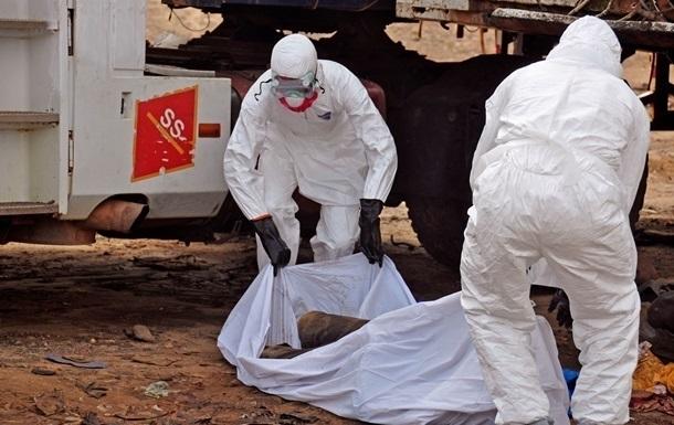 Лихорадка Эбола  - фото погибшего