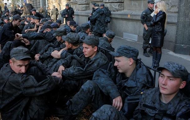 СБУ обвинила ФСБ в военных протестах под администрацией президента Украины