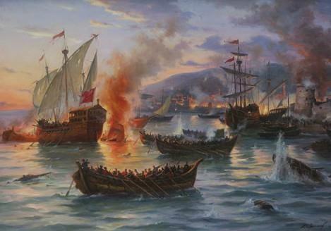 Морські походи запорожців