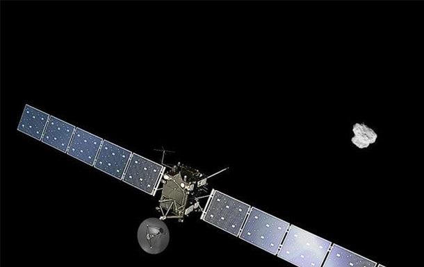Зонд Rosetta сделал первое селфи