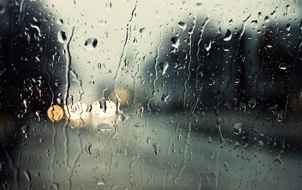 В Украине сегодня дождливо