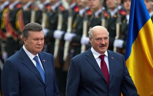 Лукашенко: Янукович - единственный виновник украинского кризиса