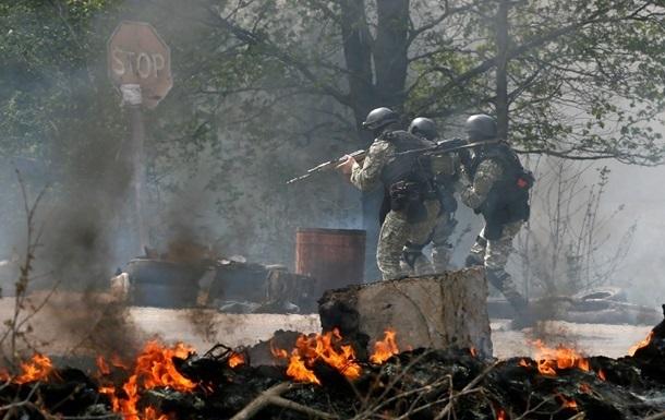 АТО на Донбассе - фото