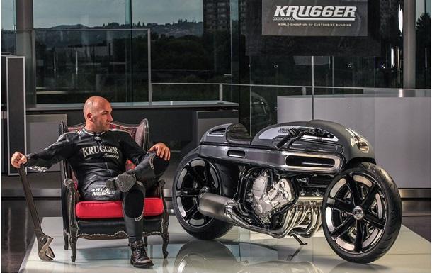Бельгийский мастер переосмыслил мотоцикл BMW K1600