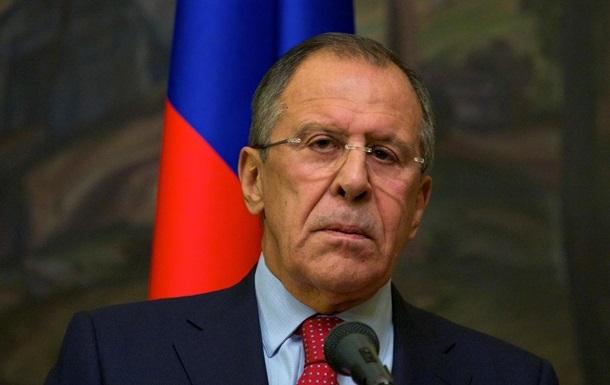 Россия не будет выполнять условия Запада и изменять свою позицию - Лавров