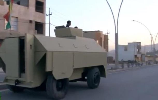 В Ираке кузнец построил бронемашину для борьбы с Исламским государством