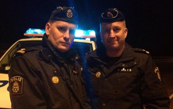 В Швеции полицейские помогли школьнику сделать уроки