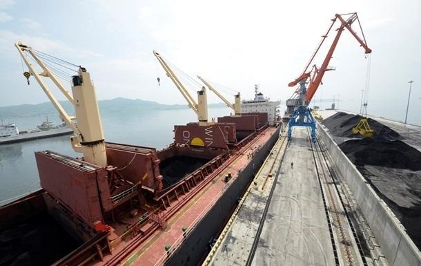 В Украину прибыло первое судно с углем из ЮАР