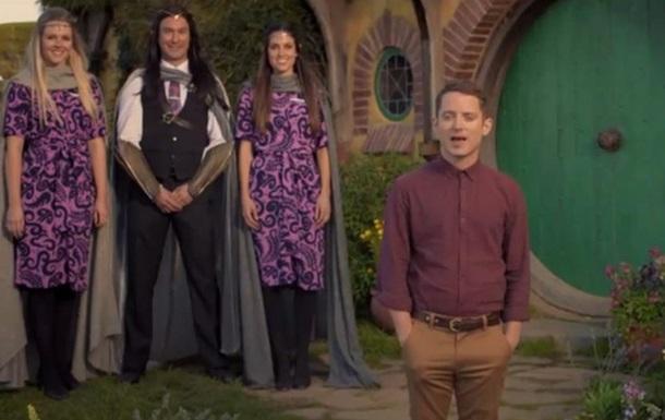 Актеры Хоббита снялись в видеоролике новозеландских авиалиний
