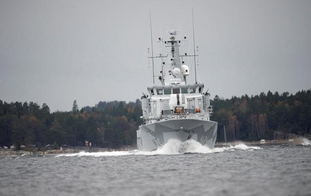 Швеція частково згортає пошуки невідомого підводного човна