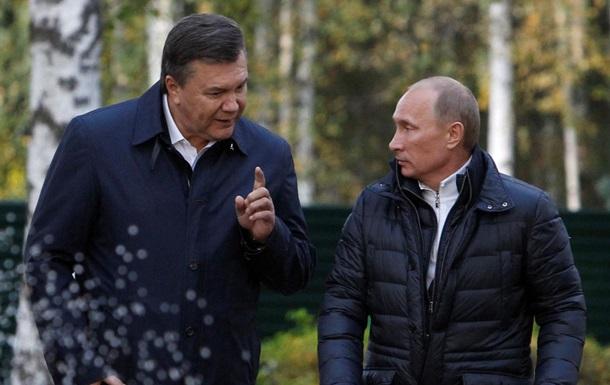 Путин признался в содействии бегству Януковича