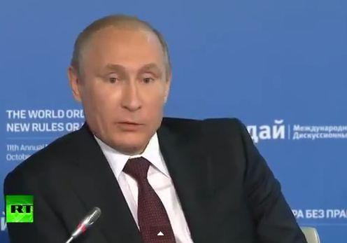 Путин заявил, что в феврале российские силы действовали на материковой Украине