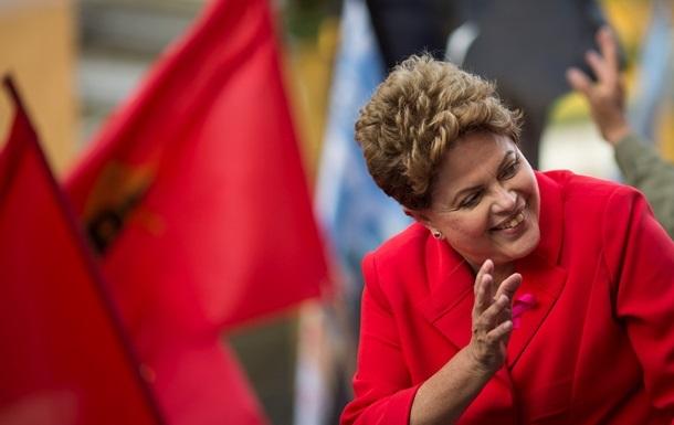 Президентом Бразилии переизбрана Дилма Роуссефф
