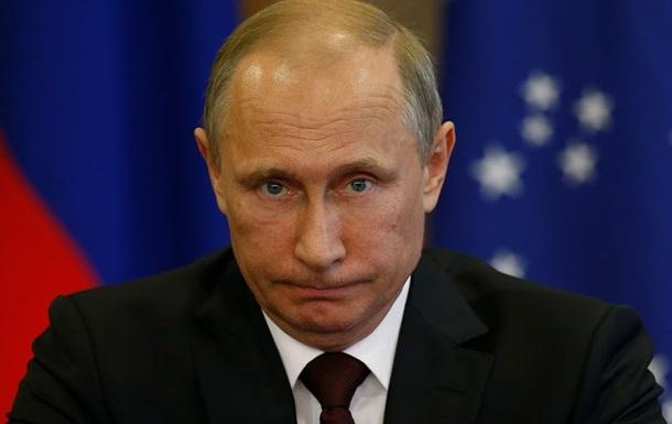 В России снижается рейтинг Путина