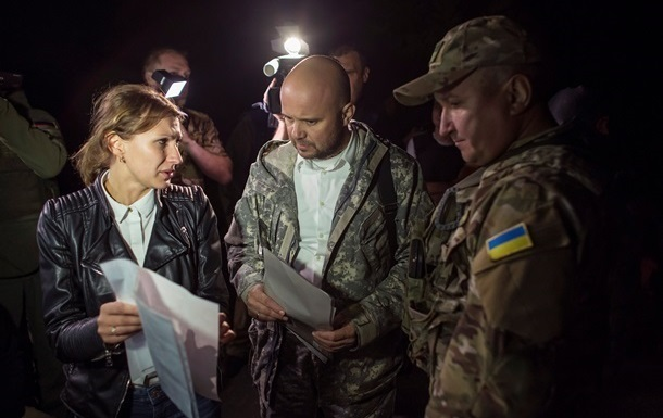 В Луганской области состоялся обмен пленными