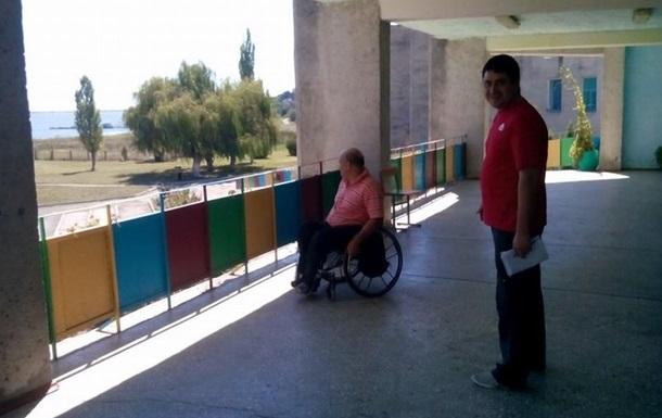 Из одесского санатория выселяют инвалидов Донбасса