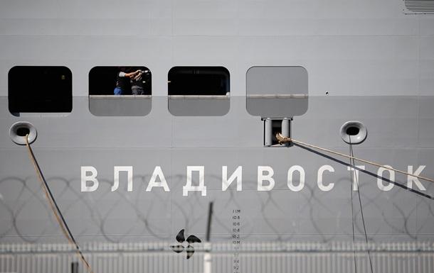 Мінфін Франції: Немає умов для передачі Росії  Містраля
