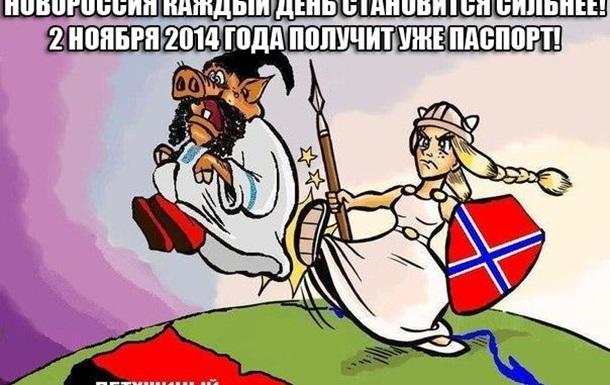 Легитимность выборов в ДНР и ЛНР  как признание Новороссии