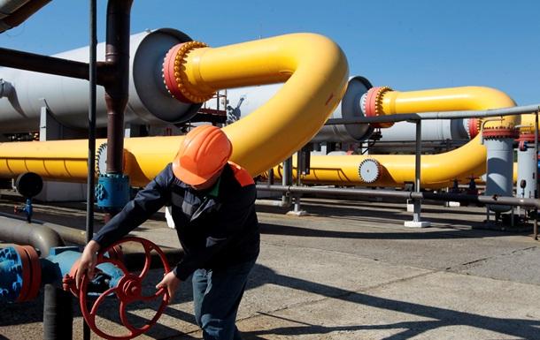 Украина хочет снизить импорт газа из России до 25 процентов к 2016 году