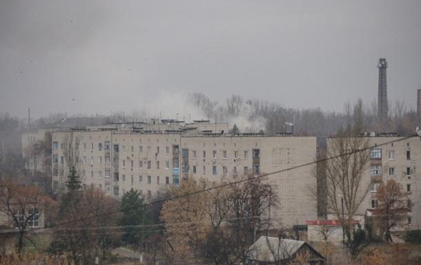 Славяносербск попал под обстрел