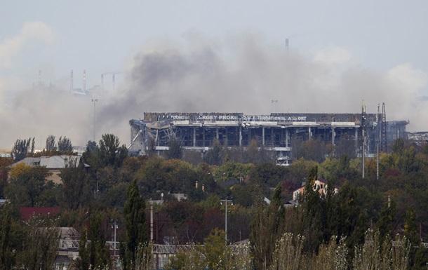 По всему Донецку слышны серии залпов