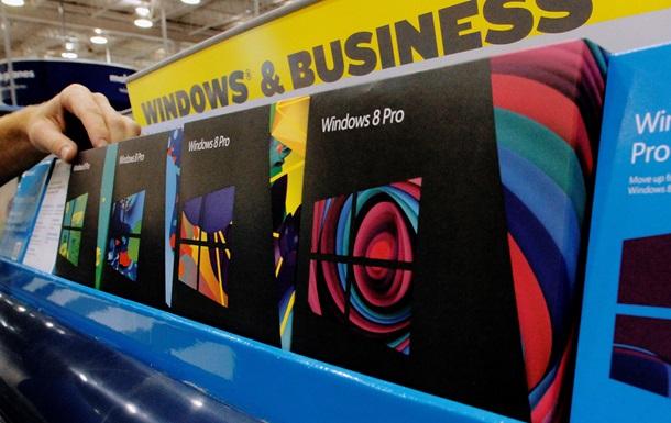 Компания Microsoft прекратила продажу Windows 7 и 8