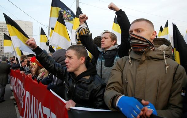 Розкол на Російському марші у Москві:  Новоросію  посилали в могилу