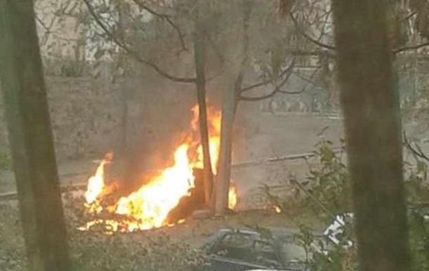 В Днепропетровске взорвался автомобиль