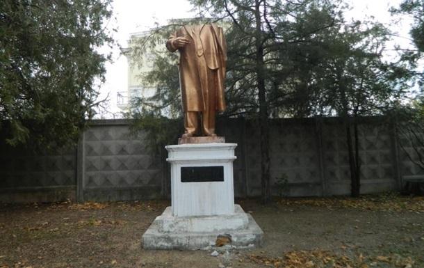 В Одессе обезглавили памятник Ленину