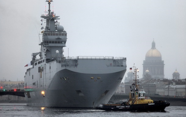 Франция: условия поставки  Мистраля  еще не достигнуты