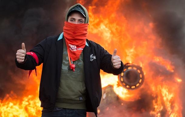 Беспорядки в Брюсселе: как разгоняли агрессивную толпу