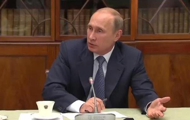 Путин заявил, что не видит ничего плохого в договоре между СССР и Германией