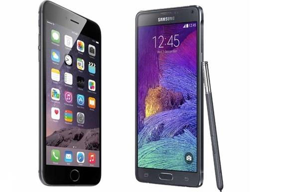 Galaxy Note 4 против iPhone 6 Plus: кто король среди фаблетов