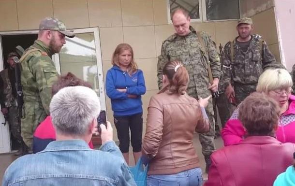 В Ждановке сепаратисты устроили  опознание  жителей, помогавших силам АТО