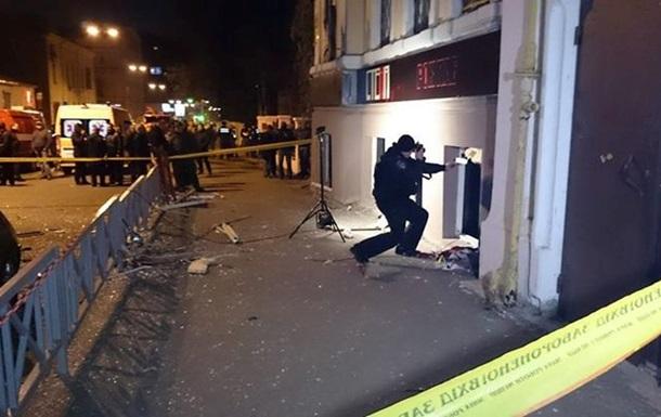 Прокуратура расценивает взрыв в харьковском кафе как теракт