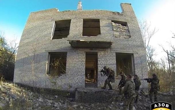 Батальйон Азов показав, як тренуються його бійці