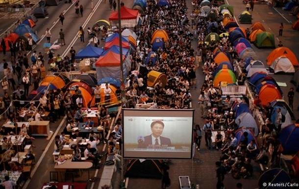 Обама отрицает причастность США к протестам в Гонконге