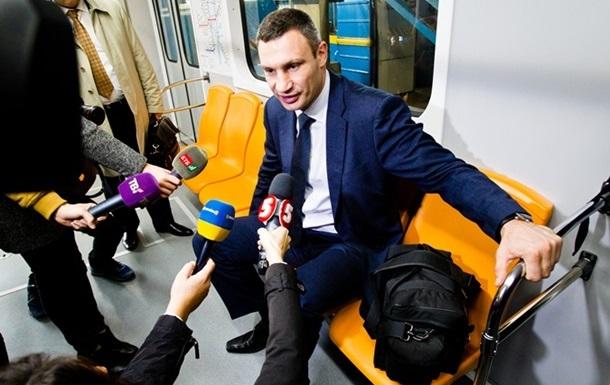 Кличко анонсировал подорожание проезда в транспорте Киева