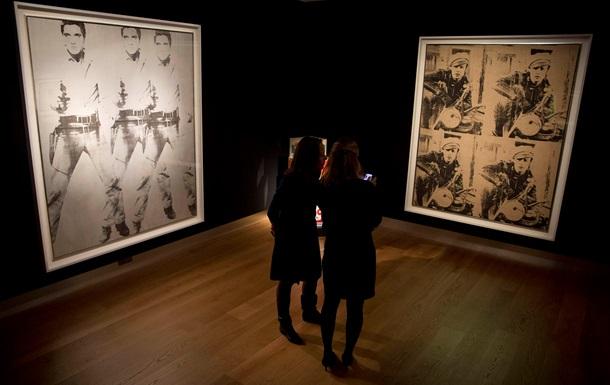 Портрети Преслі і Брандо роботи Ворхола були продані за 151,5 млн доларів