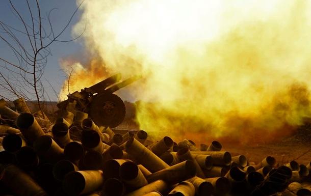 Обстрелы Донецка и бои в Луганской области. Карта АТО за 13 ноября