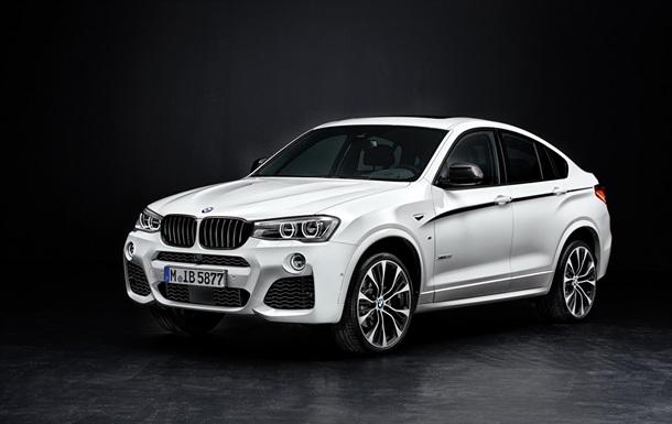 BMW представить доопрацьований Х4
