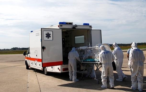 В США доставили заболевшего Эболой врача
