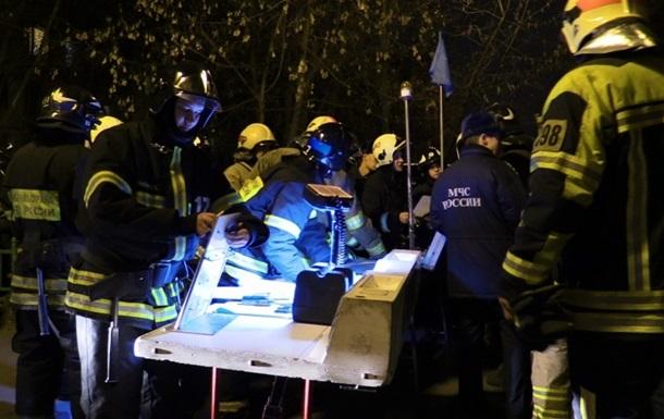 В Москве произошла серия взрывов бытового газа
